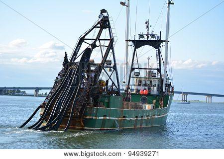 Atlantic City, NJ USA- 6/25 Clam Boat