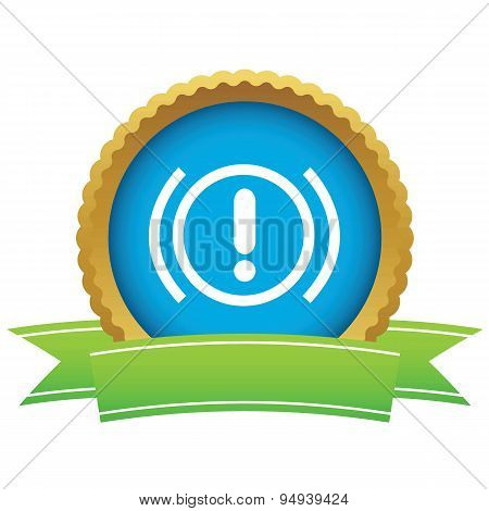 Alert certificate icon
