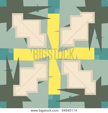 Abstract 8-bit Seamless Pattern