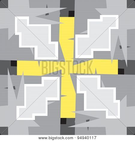 Gray 8-bit Seamless Pattern