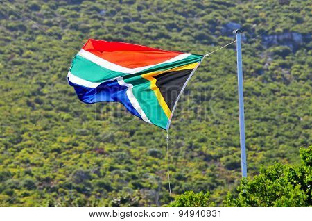 Flag - Cape Town, South Africa Coast