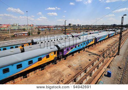 Braamfontein Railway Yards, Johannesburg