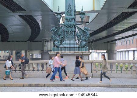 Nihonbashi bridge Tokyo Japan