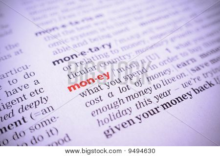 Word Money, Macro