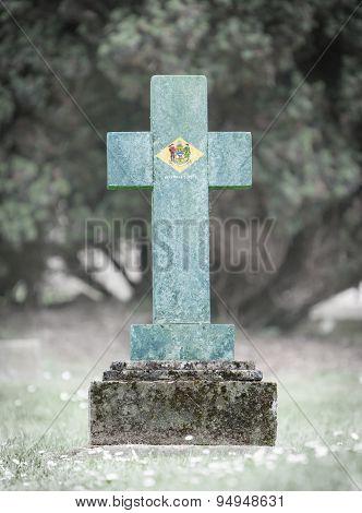 Gravestone In The Cemetery - Delaware