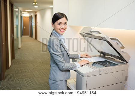 Using copy machine