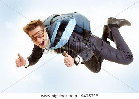 Homem voando