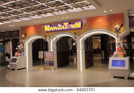 Namjatown amusement park Tokyo Japan