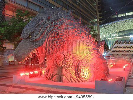 Godzilla Roppongi Tokyo