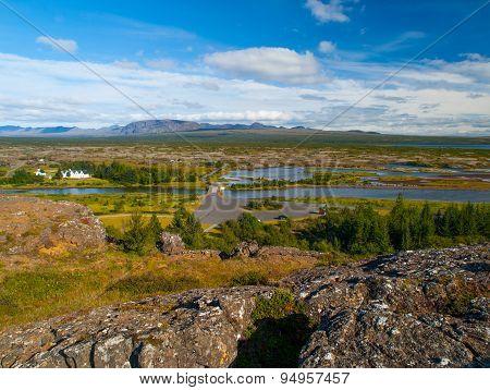 Thingvellir lakes