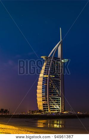 Burj Al Arab Hotel On Nov 15, 2012 In Dubai