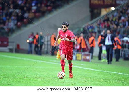 Benoit Tremoulinas Of Fc Sevilla