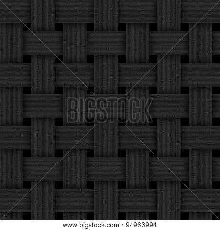 Basketwork-black