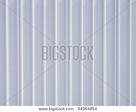 White Corrugated Iron Metal Texture Surface Steel Background