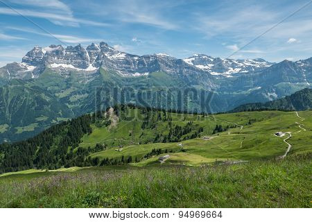 Swiss Summer Alps, Champery