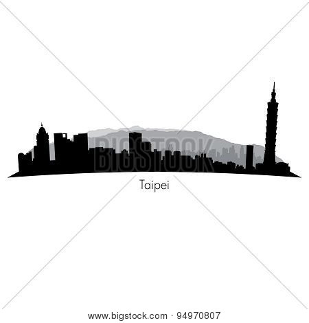 Taipei vector Skyline
