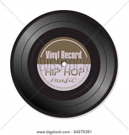 Hip Hop vinyl record
