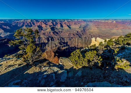 The Magnificent Grand Canyon In Arizona