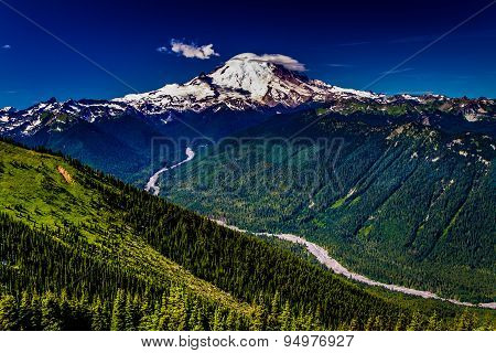 Mount Rainier as Seen From Crystal Mountain