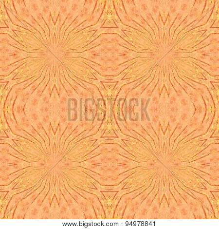 Seamless pattern terracotta
