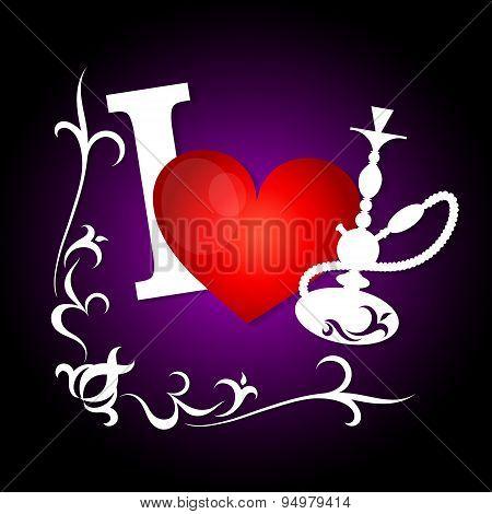 I love smoking hookah