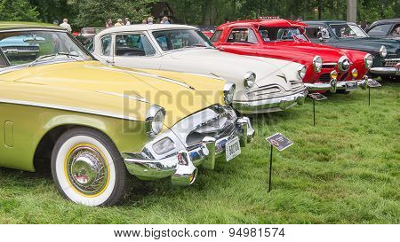 Three Studebaker Cars