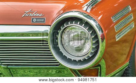 1963 Chrysler Turbine Concept Headlight