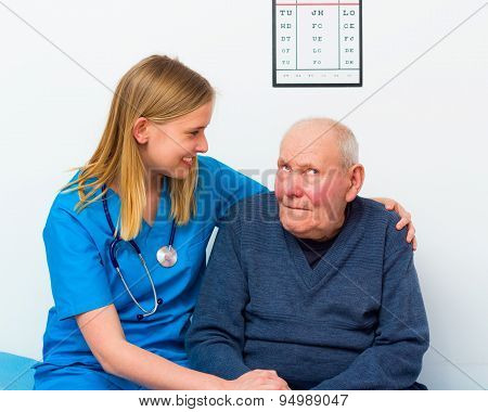 Elderly With Dementia