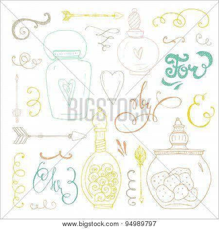 Romantic Doodle Bundle