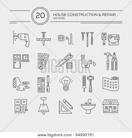 House Remodel Icons