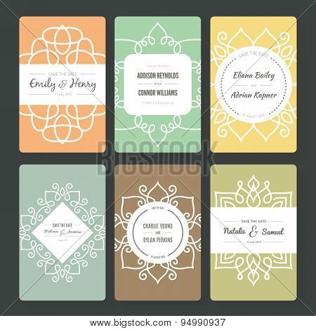 Ornamental Card Templates