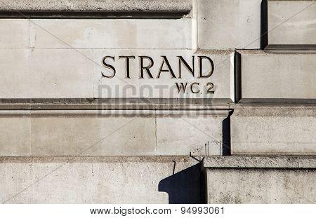Strand In London