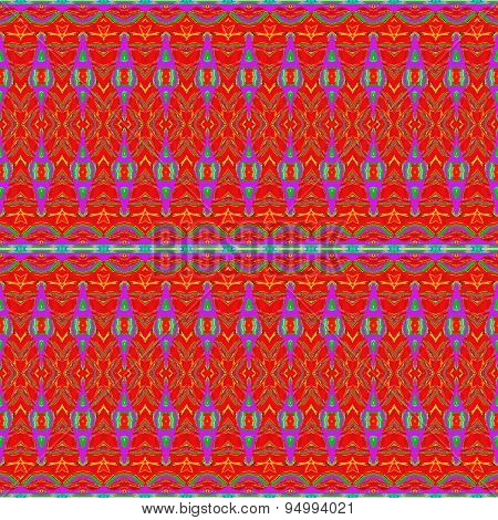 Seamless pattern red yellow