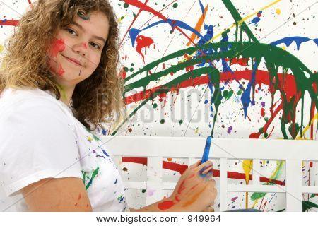 Teen Painter