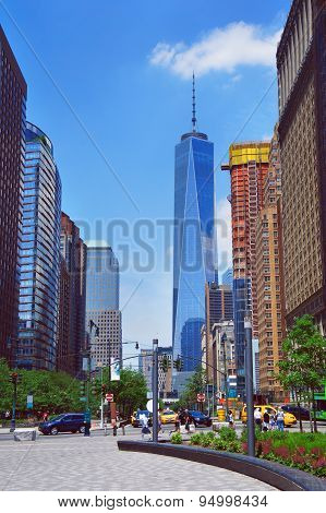 Little West Street View To Freedom Tower