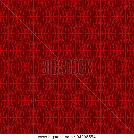 Seamless vintage Chinese window tracery diamond check cross pattern background.