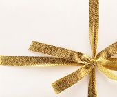 Golden Gift Ribbon
