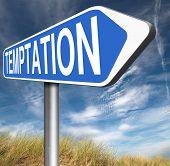 foto of irresistible  - temptation resist devil temptations lose bad habits by self control  - JPG
