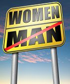 picture of gender  - men women gender differences  - JPG