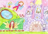 picture of faerie  - Fairy of a tale princess prince - JPG