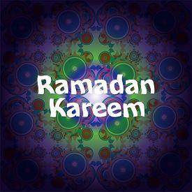 foto of ramadan mubarak card  - Ramadan Kareem beautiful greeting card - JPG