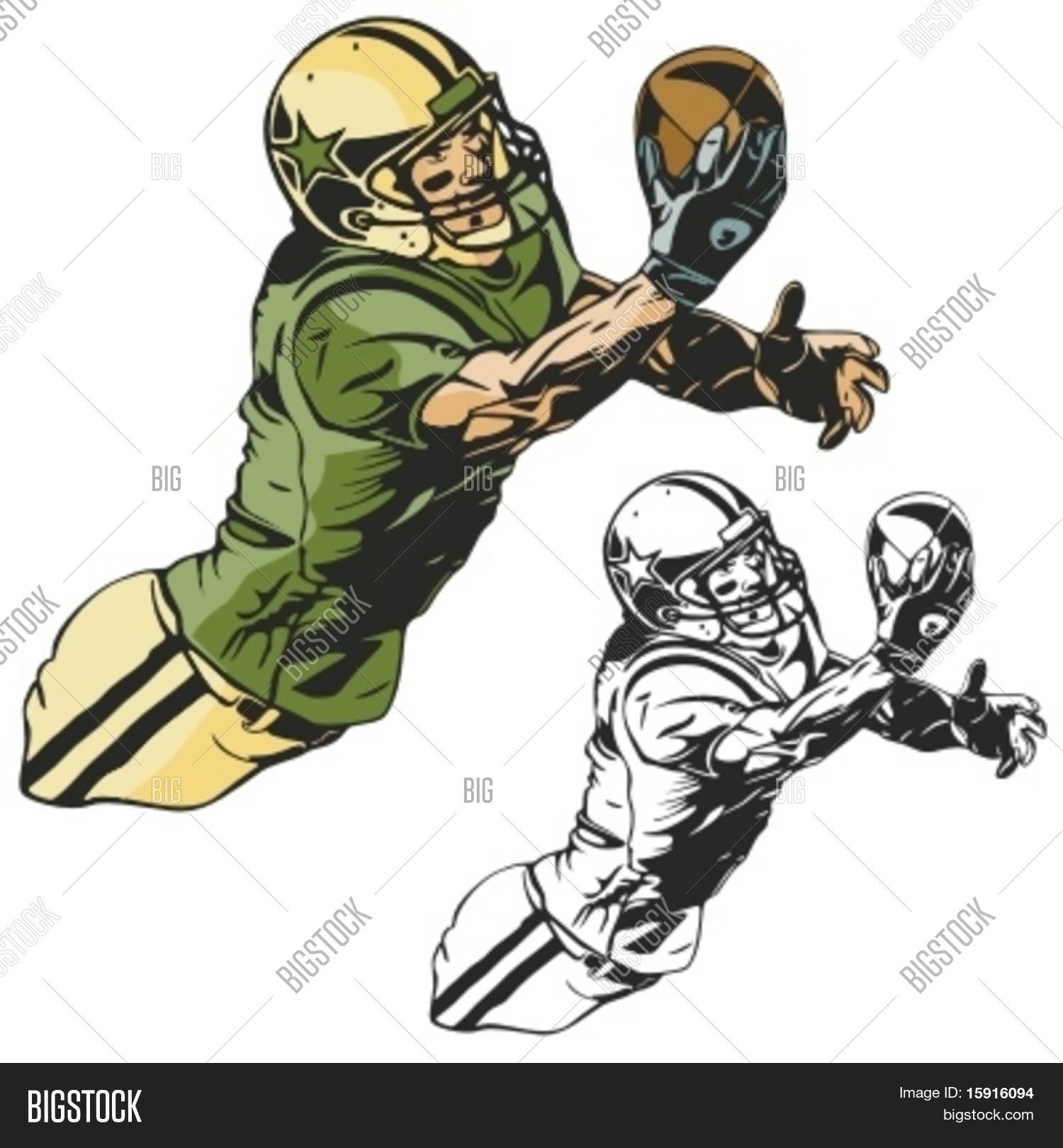 american football player vector vector u0026 photo bigstock