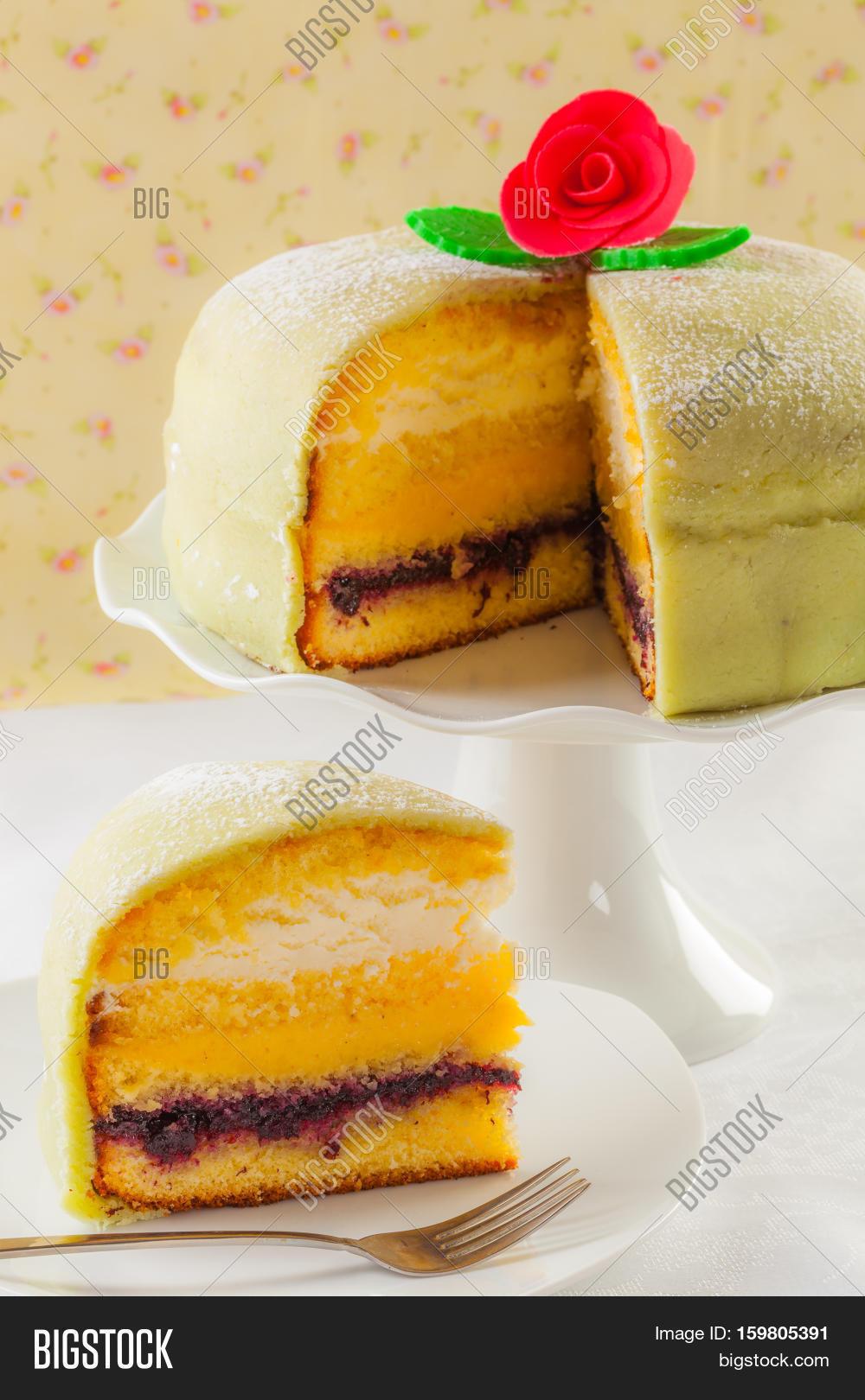 Princess Cake Swedish Log