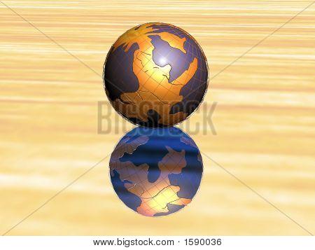 3D Golden World