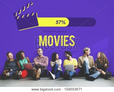Entertainment Multimedia Theatre Movies Concept