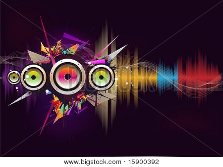 music wave- vector