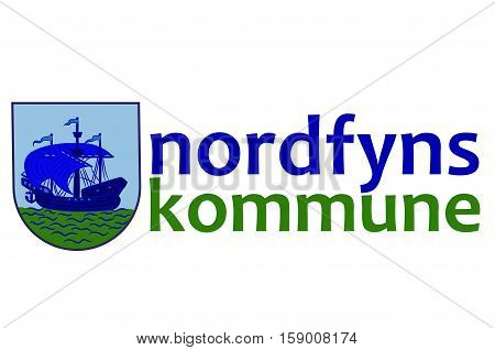 Flag of Nordfyn is a municipality in Region Hovedstaden of Denmark