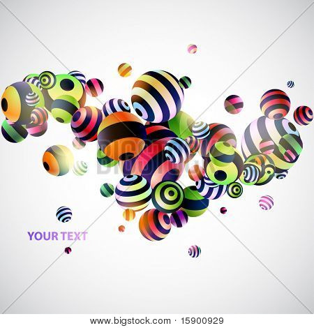abstraction 3d background