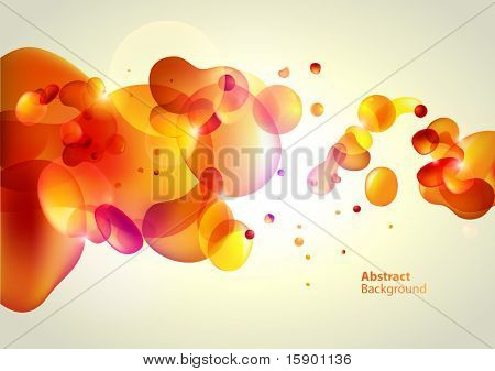 Abstraction yellow background