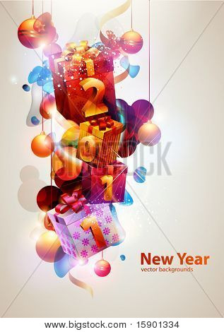 New year poster.